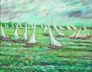 Reynolds Beal American 18671951 Sailboats