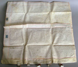English parchment deed dated 1695