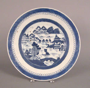 Chinese export Canton charger early 19th c