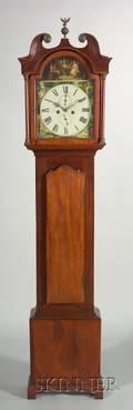 Victorian Mahogany Longcase Clock