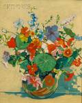 Manner of Margaret Jordan Patterson American 18671950 Still Life with Bouquet of Flowers
