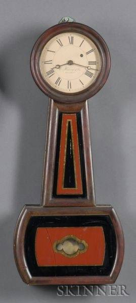 E Howard  Company No 5 Regulator Clock