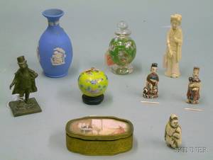 Nine Assorted Small Decorative and Collectible Items