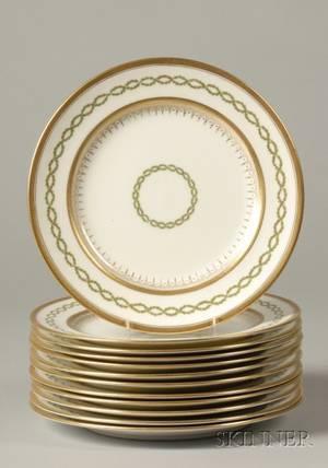 Set of Twelve Royal Doulton Service Plates