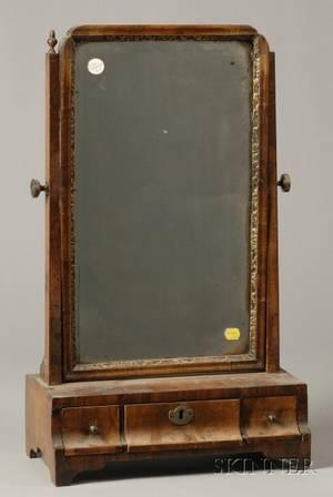 Queen Annestyle Walnut Dressing Table Mirror