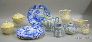 Group of Mostly English Ceramic Tableware