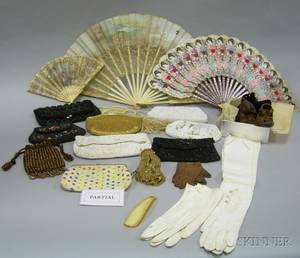 Assortment of Late Nineteenth Century and Vintage Accessories