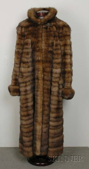 Russian Golden Sable Coat Bill Blass