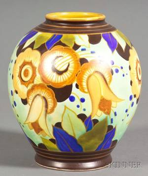 Boch Freres Art Deco Pottery
