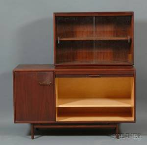 Jens Risom Credenza and Cabinet
