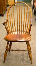 Rhode Island Windsor Appliedarm Chair