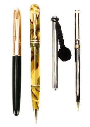 Group of 4 Pens Tiffany  Co Diamond PP Park