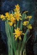 John Joseph Enneking American 18411916 Bouquet of Daffodils