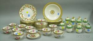 Large Group of English and Continental Porcelain Tableware