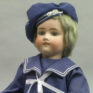 Simon  Halbig Bisque Doll
