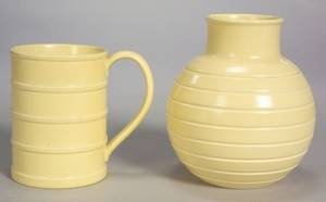 Two Wedgwood Keith Murray Design Items