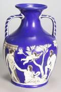 Samuel Alcock Porcelain Portlandstyle Vase