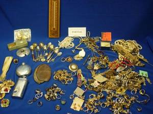 Group of Costume Jewelry and Other Miscellany