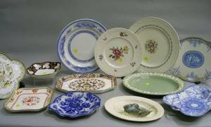 Twelve Wedgwood Platters and Trays