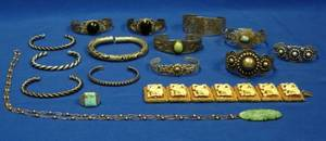 Group of American Southwest and East Asian Jewelry