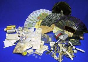 Large Group of Assorted Vintage and Modern Costume Jewelry Assorted Accessories and Jewelry Making Supplies