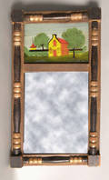Country Sheraton mirror