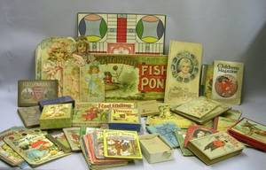 19th Century Childrens Books and Games