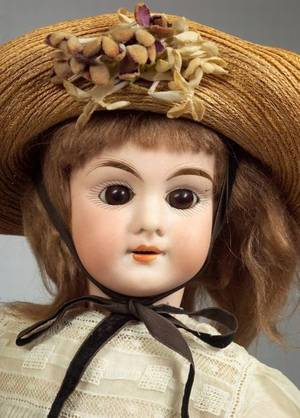 LC with Anchor Bisque Head Doll