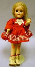 Hard Plastic Ideal Mary Hartline Doll