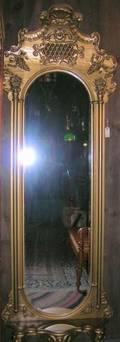 Gold Painted Victorian Pier Mirror