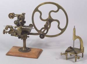 Swiss Watchmakers RoundingUp Tool and a Brass Uprighting Tool