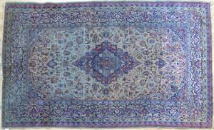 Silk Persian rug ca 1900