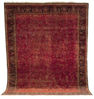 Mohtashem Kashan carpet late 19th c