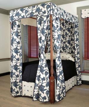 Newport Rhode Island Chippendale mahogany tall post bed ca 1780
