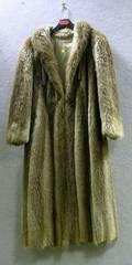 Ladys FullLength Fox Fur Coat