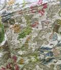 Silk and Metallic Thread Embroidered Textile