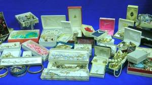 Large Group of Vintage and Later Costume Jewelry