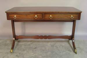 Kittinger mahogany sofa table