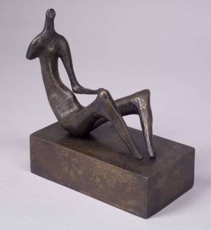 Henry Moore British 18981986 Seated Woman one Arm