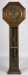 DarmstadtJugendstil School Fruitwood Tall Case Clock