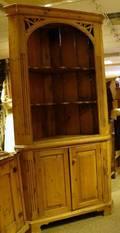 Georgian Pine Corner Cupboard