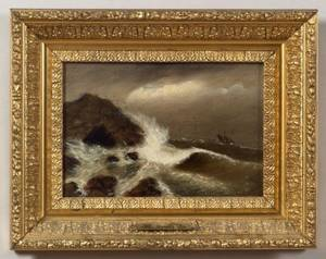 Clement Drew American 18061889 Swallow Cove Nahant