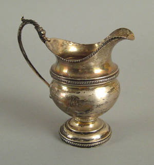 Philadelphia silver creamer ca 1815