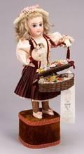 Leopold Lambert Automaton of a Flower Seller