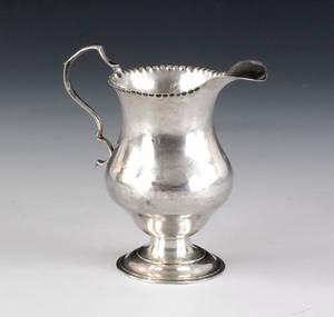 American silver creamer ca 1770