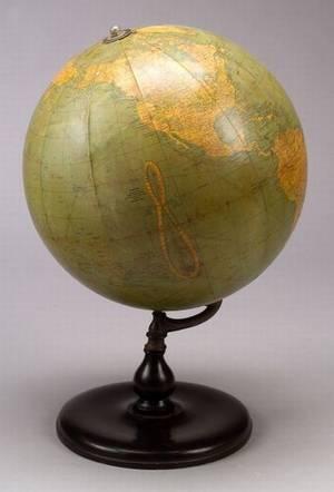 12inch Terrestrial Globe by Barowe Inc