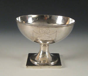 Philadelphia silver bowl late 18th c
