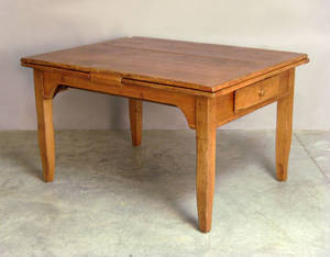 French pine extension dining table
