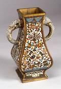 Cloisonn Vase