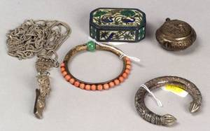 Five Pieces of Asian Jewelry Work